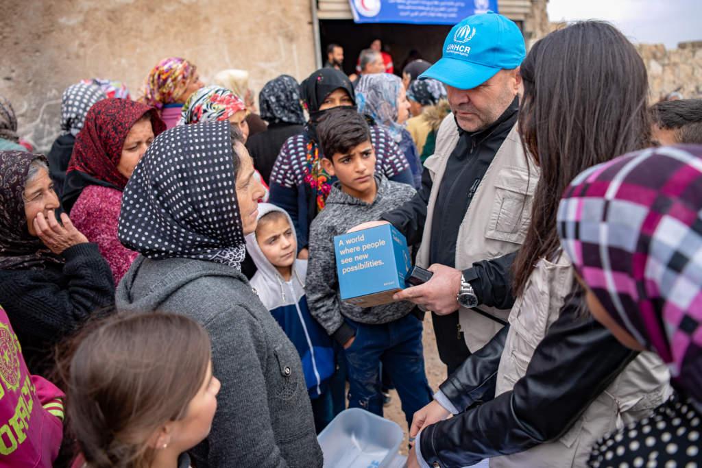 90 procent av UNHCR:s personal arbetar i fält.